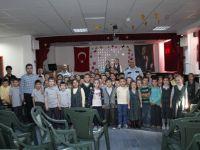 Pehlivanoğlu İlkokulu öğrencilerine trafik semineri