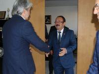 Muhtarlar, Belediye Başkanı, MASKİ ve Ziraat Odasını ziyaret etti