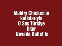 Makfry Chicken'ın katkılarıyla O Ses Türkiye İlker Novada Outlet'te