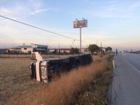 Akhisar'da tır kazası