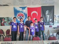 Akhisargücü satrançta İl birinciliğinden 4 madalya ile döndü