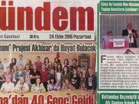 Akhisar Gündem Gazetesi 24 Ekim 2016