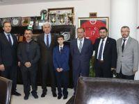 Türkiye ikincisinden Belediye Başkanı Salih Hızlı'ya ziyaret