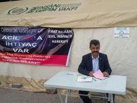 Akhisar Sivil Dayanışma Platformu, Cerablus'a yardımları başlattı