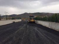 Okullar Bölgesi'nde asfalt çalışması