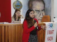 8 Mart Kadınları, şiddete karşı bilinçlendirdi