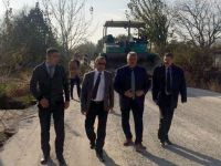 Akhisar'da 10 Mahalleyi sevindiren asfalt