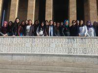 Zeynep Gülin Öngör MTAL, Ankara'yı ziyaret etti