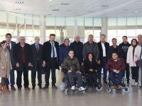 Belediye Başkanı Salih Hızlı, engelli temsilcileri ile buluştu