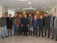 Oda Başkanlarından, Emniyet Müdürüne başsağlığı ziyareti