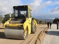 Sazoba – Beyoba yoluna sıcak asfalt