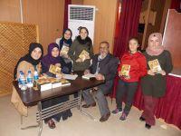 Adem Göksügür Kitabını Halep için imzaladı