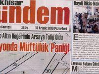 Akhisar Gündem Gazetesi 19 Aralık 2016