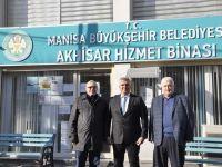 Akhisarlı Başkanlar Büyükşehir'den memnun