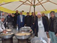 MHP Şehitler için gün boyu lokma döktürdü