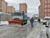 Akhisar'da kar çalışmaları