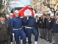Akhisarlı Kore Gazisi Altay, son yolcuğuna uğurlandı