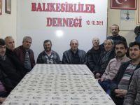Akhisar, Balıkesirliler Derneği yeni yönetimi ilk kez toplandı