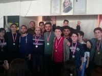 Özel Merkez Lisesi Futsal'da Akhisar 3.sü oldu