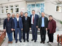 Uğur Aydemir'den Manisa Halk Sağlığı Müdürü Dr. Engin Yıldırım'a ziyaret