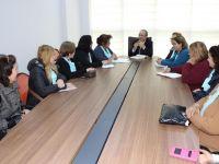 Akhisarlı Kadınlardan Büyükşehir'e ziyaret