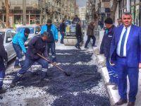 Akhisar'ın caddelerine bakım