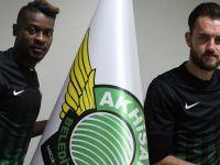 Akhisar Belediyespor'da son günde 2 golcü transfer etti