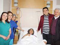 Özel Akhisar Hastanesi'nde bir ilk gerçekleştirildi