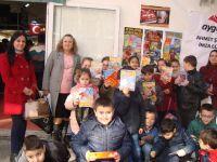 Mehmet Akif Ersoy İlkokulu öğrencileri, Kitap Fuarını gezdi