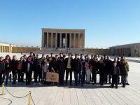 Namık Oğul Anadolu Lisesi, Aybek Tur ile Ankara'yı gezdi