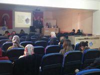 Halk Eğitimde Toplum Sağlığı Merkezi yetkilileri tarafından seminer verildi