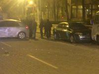 Şehit Murat Öztürk Caddesinde kaza 3 yaralı