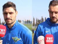 Akhisar Belediyespor'da Özer ve Cikalleshi Antalyaspor maçı öncesini değerlendirdi
