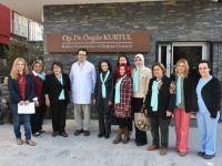 Op. Dr. Özgür Kurtul, 8 Mart kadınlarını ağırladı