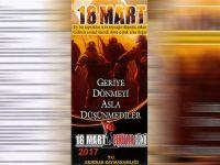 18 Mart 2017 yılının şehitler günü programı belli oldu