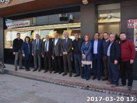 Milletvekili Bilen'den Erdayıoğlu'na ziyaret