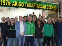 Akhisar Taraftarı Akigolar'dan takıma destek sözü