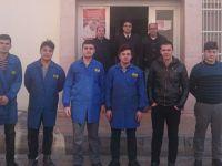 Kayhan Ergun MTAL, Hem Meslek Hem Destek projesine askerlik şubesinde devam etti