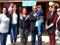 Gölmarmara'da özel çocuklara özel sürpriz