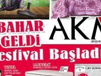AKM'de bahar festivali başladı