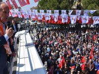 CHP Yalova Milletvekili Muharrem İnce Akhisarlılara seslendi