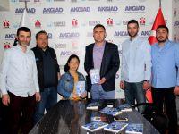 AKGİAD, genç yazar Büşragül'ü ağırladı