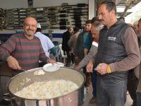 Ersöz Egzoz yeni yerinde pilav hayrı yaptı