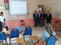 Kaymakam Kaan Peker, Halk Eğitim kurslarını ziyaret etti