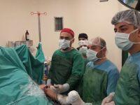 Mustafa Kirazoğlu Devlet Hastanesi'nden bir ilk daha