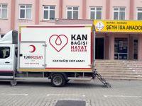 Şeyh İsa Anadolu Lisesi, Kızılay'a 44 ünite kan bağışladı
