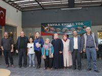 Yörük Kızı Fatoş Kadıoğlu, genç yazarı ziyaret etti