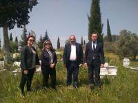 Büyükşehirden Sünnetçiler mezarlığında inceleme