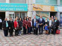 8 Mart Kadın Dayanışma Derneği Büyükşehirle buluştu