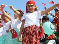 Akhisar'da 23 Nisan coşkusu